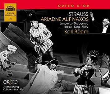 R. Strauss: Ariadne auf Naxos, Op. 60, TrV 228a