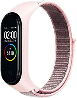 Nylon Band Compatible with Xiaomi Mi Band 3/4/5/6/Amazfit Band 5, Replacement Strap Wristband Sport Band for Xiaomi Band ...