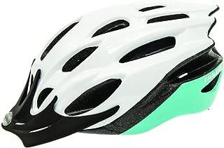 RALEIGH Mission Evo Helmet - White/Mint Green - Medium (54-58cm)
