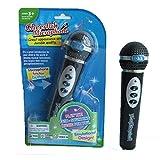 Gobutevphver Niños Niñas Niños Micrófono Micrófono Karaoke Cantando Niños Música Divertida Juguete Regalos - Negro