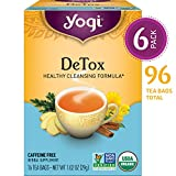 Yogi Tea - DeTox Tea - Healthy Cleansing Formula With Traditional Ayurvedic Herbs - 6 Pack, 96 Tea...