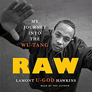 Raw audiobook cover art