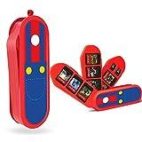 Nintendo Switch Game Card Case, Creative Game Card Holder for Nintendo Switch Games with 8 Slots + 2 TF Slots (Mario)