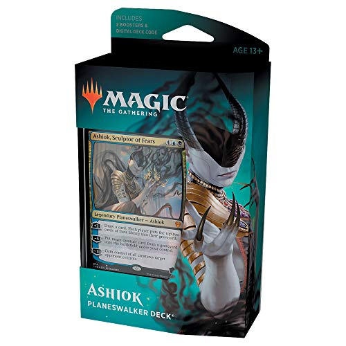Magic: The Gathering Theros Beyond Death Ashiok, Escultor de Miedos Planeswalker Deck