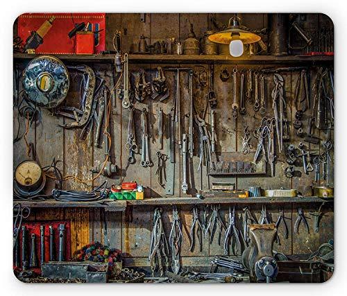 Funny Mechanic Shop Metal Tin Sign Wall Decor Man Cave Bar Money Happiness Tools