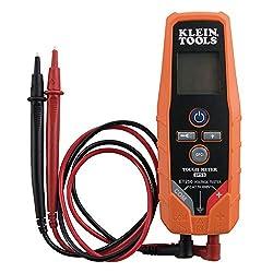 small Klein Tools ET250 Voltmeter, AC / DC Voltage Tester, Digital Multimeter 3…