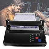 Imprimante thermique d'imprimante de tatouage d'A5 A4, machine de transfert de papier de pochoir de tatouage de copieur thermique d'imprimante thermique pour le tatouage permanent(EU)
