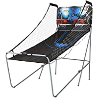 MD Sports 2-Player Arcade Basketball Game (Black/Blue)