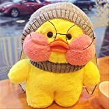 yqs Juguete de Peluche 30 Cm De Red Coreana Vistiendo Little Yellow Duck Doll Ducks Ducks Lalafanfan Ducks Plush Soft Toys Ducks Doll Birthday Gi