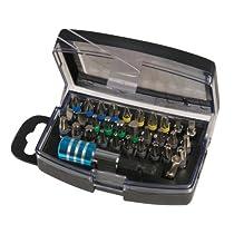 Silverline 681743 Colour-Coded Bit Set - 32 Pieces by Silverline