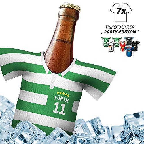 Herren Trikot-Kühler für Spvgg Greuther Fürth-Fans | 7er Party-Edition | fußball Fanartikel bierkühler by ligakakao.de