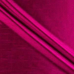 58'' Faux Dupioni Silk Raspberry Fabric
