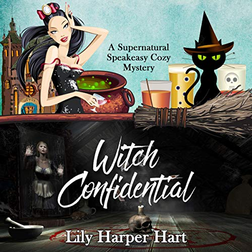 Witch Confidential audiobook cover art