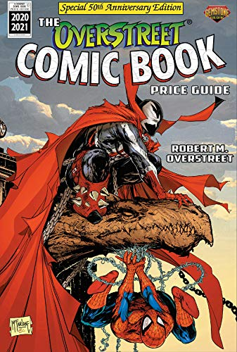 Compare Textbook Prices for The Overstreet Comic Book Price Guide Volume 50 – Spider-Man/Spawn Anniversary Edition ISBN 9781603602525 by Overstreet, Robert M.,McFarlane, Todd
