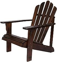 Shine Company Inc. 4611BB Westport Adirondack Chair, Burnt Brown