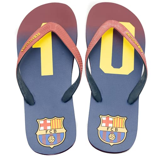 Chanclas de Leo Messi para Fans y Coleccionistas. Edición limitada. Zapatillas oficiales del 10 del Barça 45-46