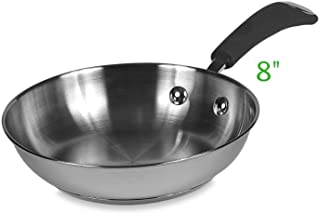 """Presence Professional Stainless Steel Fry Pans (8"""")"""