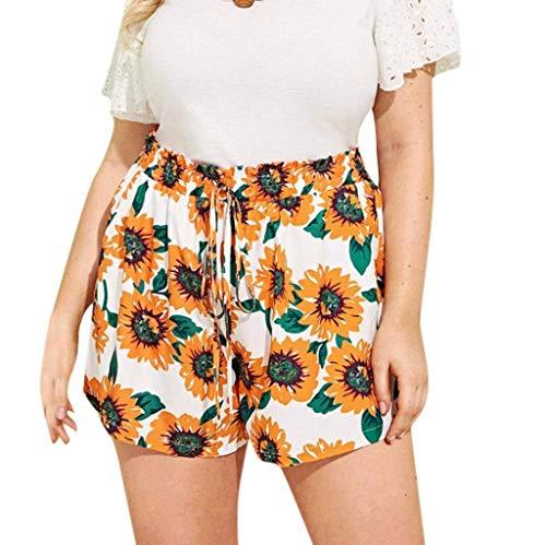 Pantalones Cortos De Cintura del Ocasional Alta Estilo Modernas Casual del Verano De Los Cortocircuitos De Mujer Flojas De Moda Mujer con Cinturón Pantalones Cortos Pantalones Cortos De Verano De Las