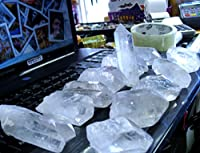 12 TO 15 QUARTZ CRYSTAL FROM CRYSTAL MINE.WHOLESALE PRICE.OVER 3 POUND