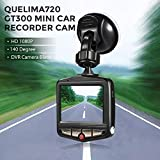Joyfulstore- Mini Dvrs Car Dvr Gt300 Camera Camcorder 1080P Full Hd Video Registrator 140 Degree Parking Recorder Loop Recording Dash Cam (8G Dvr)