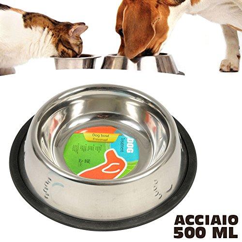 Dog - 38946 - Gamelle pour Chien en Inox - 500 ml