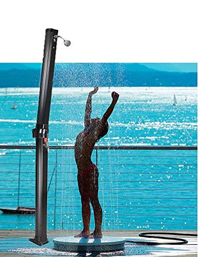 Find Discount Summer Outdoor Poolside Shower Pole Folding Sprinkler Stand Solar Pool Spa Outdoor Hom...