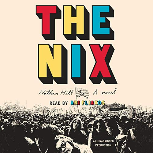 The Nix audiobook cover art