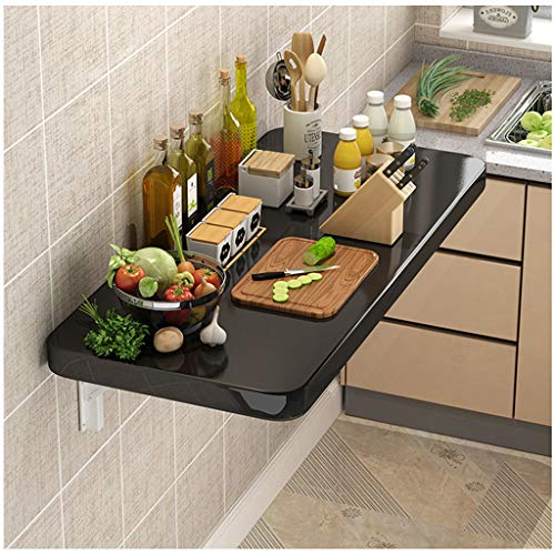 XDD Wandklapptisch Wand-Esstisch Klappbare Arbeitsplatte Wasserdicht Und Feuchtigkeitsbeständig Geeignet Für Küche Office Etc.