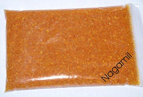 Silica Gel Orange von nagamil, Trockenmittel, 250 g mit Indikator, regenerierbar