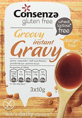 Consenza Instant Bratensaft Glutenfrei, 8er Pack (8 x 30 g)