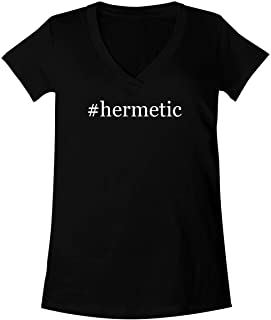 #Hermetic - A Soft & Comfortable Women's V-Neck T-Shirt