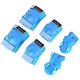 Kids/Youth Knee Pad Elbow Pads Guards Protective Gear Set for Rollerblade Roller Skates