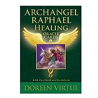 44PCS /セットArchangel Raphael Healing Oracle Card Tarot Cards Friend Partyテーブルゲームカードデッキゲームタロットカード(英語)