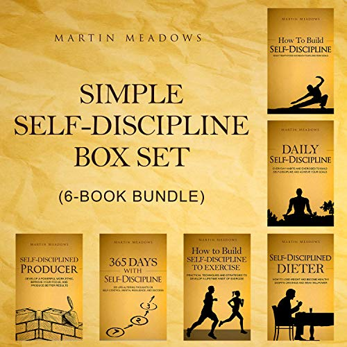 Simple Self-Discipline Box Set (6-Book Bundle) (English Edition)