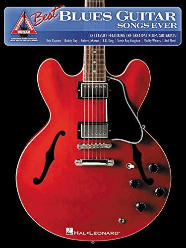 Hal Leonard el mejor Blues Guitar canciones nunca libro de canciones para guitarra Tab