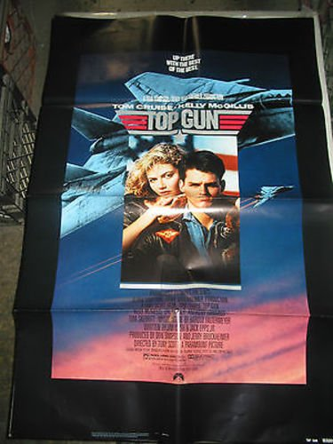 TOP GUN / ORIGINAL US ONE-SHEET MOVIE POSTER (TOM CRUISE)