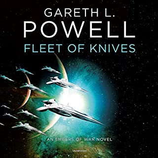 Page de couverture de Fleet of Knives: An Embers of War Novel