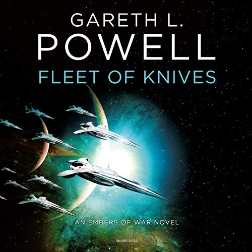 Fleet of Knives: An Embers of War Novel audiobook cover art