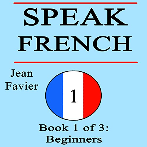 Speak French audiobook cover art