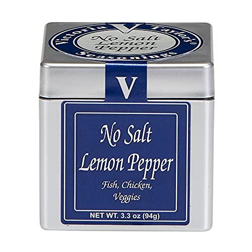 No Salt Lemon Pepper- 3.3 oz.