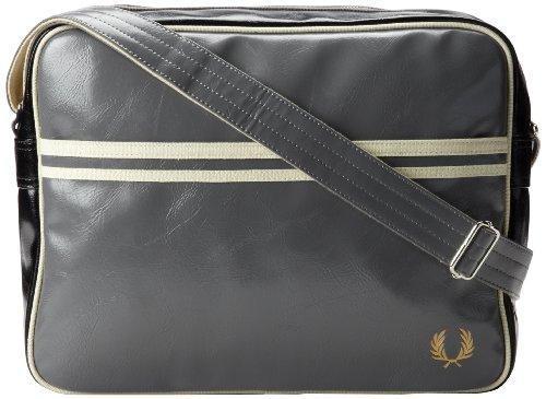 Fred Perry Classic Herren Shoulder Bag Grau