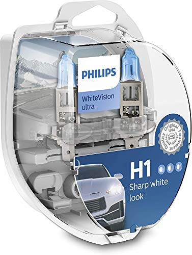 Ampoules H1 Philips White Vision Ultra