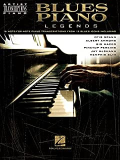 Artist Transcriptions: Blues Piano Legends - Partituras