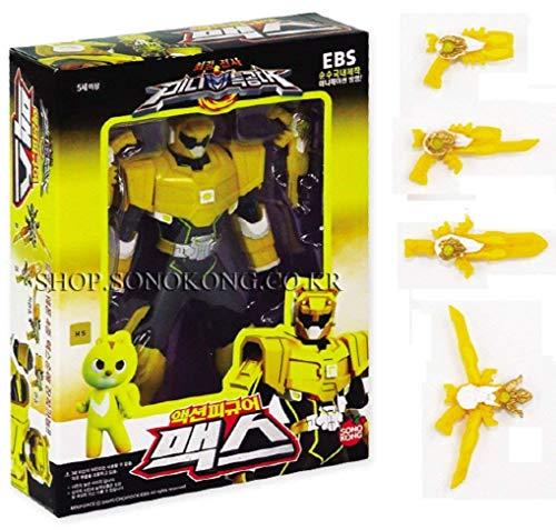 MINI FORCE Miniforce Max Robot Action Figure, Yellow