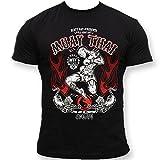 Dirty Ray Artes Marciales MMA Muay Thai Camiseta Hombre T-Shirt K9C (M)