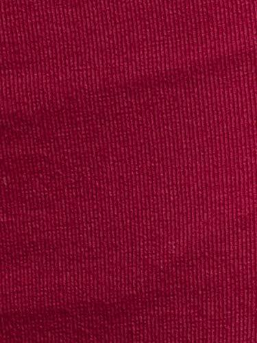 Jockey SS04 Women's Plain/Solid Cotton Shorts (Beet Red, Medium)