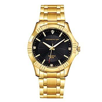 Best gold stainless steel watch Reviews