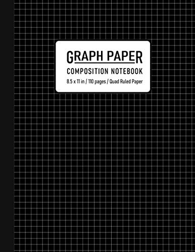 Graph Paper Composition Notebook: Grid Paper Notebook, Grid Paper for Math and Science Students, Quad Ruled 4x4 ( 110 Pages, 8.5 x 11)