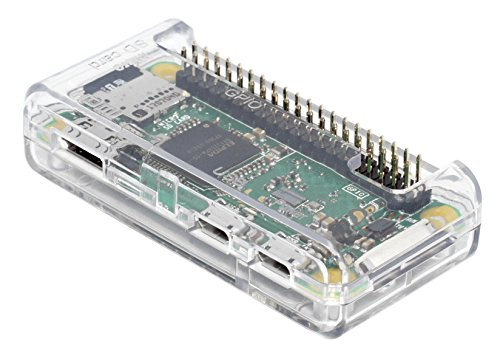 SB Alta qualità Raspberry Pi Case Zero - Clear/Trasparente ** ** Accesso a Tutte Le Porte montate in 30 Secondi e Chiusa Aperto (Clear)