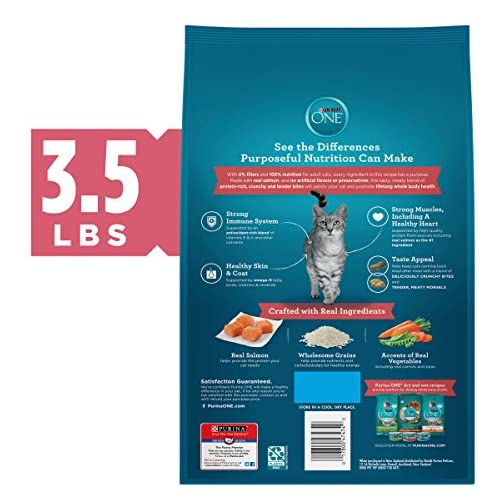 Purina ONE Tender Selects Blend Adult Dry Cat Food 4